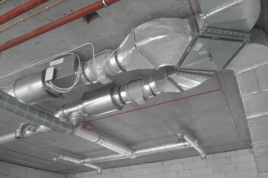 Монтаж припливно-витяжної вентиляції