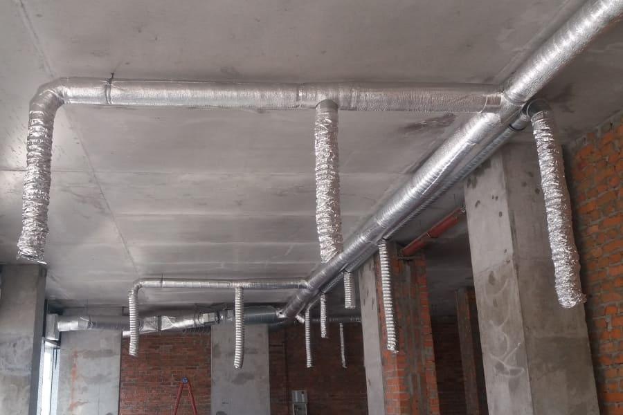 Монтаж вентиляції з рекуперацією тепла