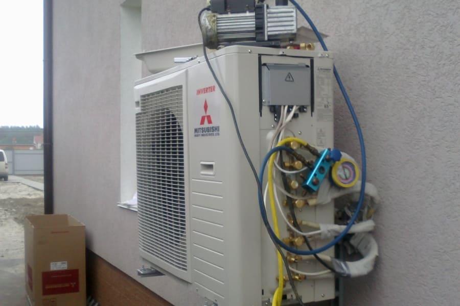 Стоимость установки кондиционера