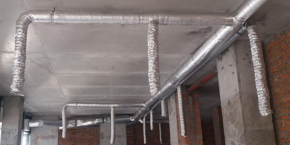 Монтаж припливно-витяжної системи вентиляції