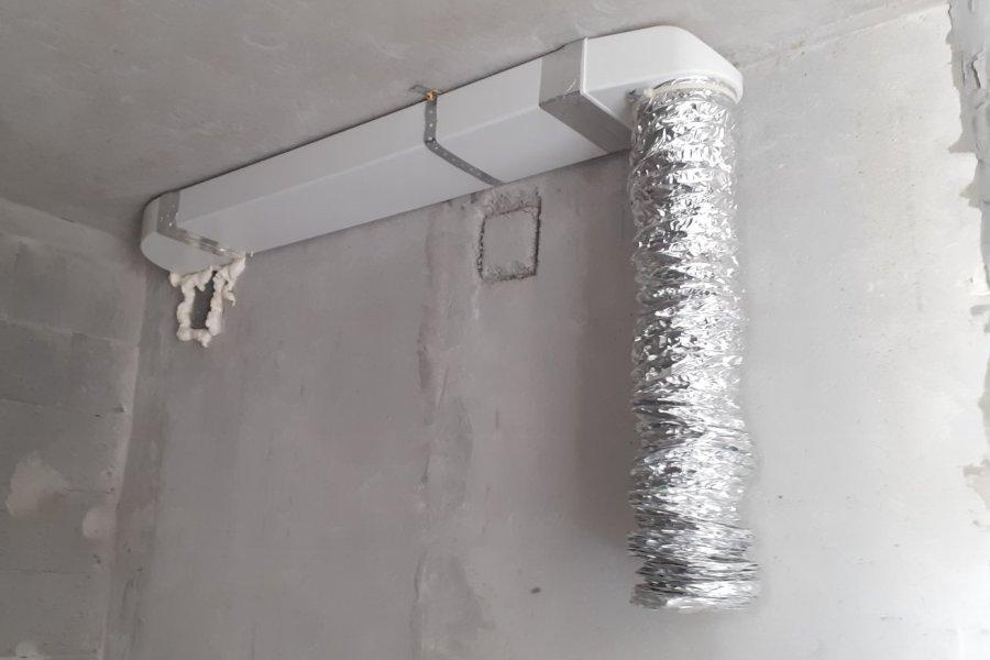 Монтаж вентиляції