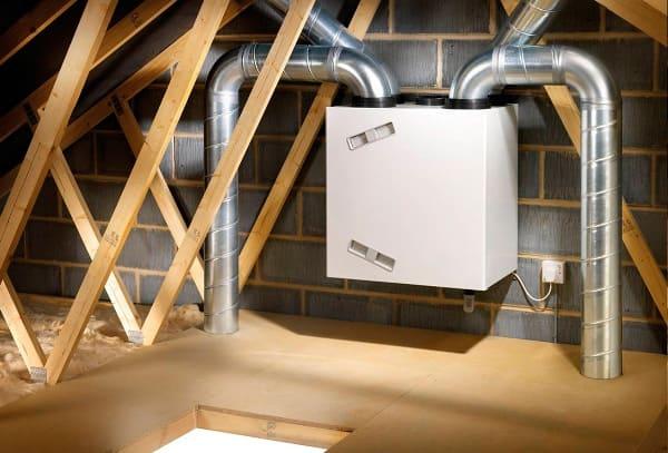 Припливно витяжна-вентиляція з рекуперацією тепла приватного будинку